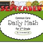 Get your 2nd graders engaged and focused with this Daily Math packet aligned with Common Core Standards. This easy-to-use resource, with 100 differ...