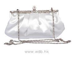 Vintage silk made crystal frame bag $13.99