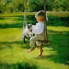Una infancia llena de amor besos y abrazos