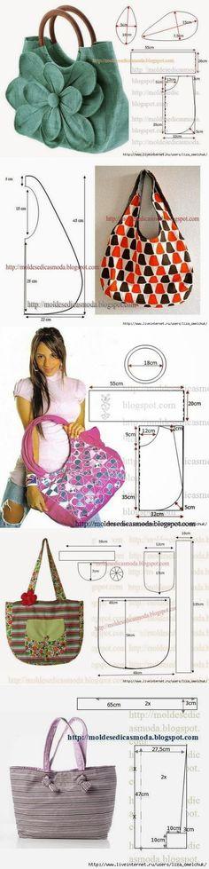 Шьем сумки к лету сами (выкройки сумок).