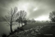 NBF21 - Sur les bords de la Durance à Sisteron en hiver - Alpes de Haute Provence 04
