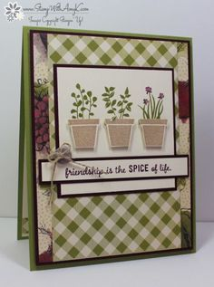 Stampin' Up! Gift From The Garden