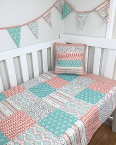 """The """"Pastel Arizona"""" Nursery by @danoah_baby featuring Coyote fabric by Hawthorne Threads"""