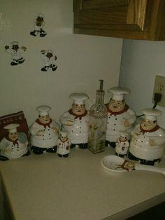 Sharon On Chef Kitchen Decorkitchen