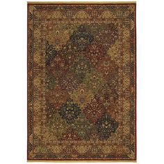 Shaw Rugs Renaissance Venice Multi Rug - look at kohls ($999) and shop online to find best price