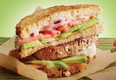 California Avocado grower Randy Axell loves to make this grilled cheese sandwich with cheddar and pepper jack cheeses, Fresh California Avocado, tomato, red onion and chili sauce. Avocado Uses, Avocado Soup, Avocado Salad Recipes, Easy Hash Recipe, Grilled Cheese Avocado, Honey Wheat Bread, Sandwiches, Good Food, Yummy Food