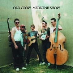 Old Crow Medicine Show. My wedding party walked down the aisle to Wagon Wheel :)
