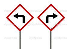 Resultado de imagen de señales de transito girar izquierda
