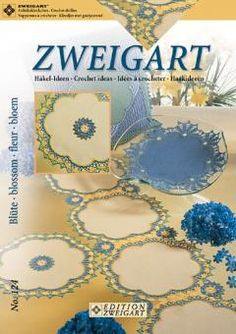 Zweigart Häkelidee - Blüte No.124 - 7011/602 | Martinas Bastel- & Hobbykiste