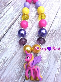 """Dizzy Desi """"Diamonds"""" custom necklaces for mamas and littles!! On Facebook"""
