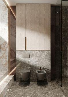Dark ceramic to create a modern bathroom. - Dark ceramic to create a modern bathroom. ____________ Dark ceramics to create - Bathroom Layout, Modern Bathroom Design, Contemporary Bathrooms, Bathroom Interior Design, Small Bathroom, Bathroom Ideas, Bathroom Organization, Bathroom Storage, Master Bathrooms