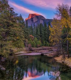 last light on half dome, Yosemite National Park, California