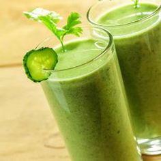 Suco verde com maçã e beterraba