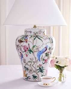 Table Lamp Shades, Table Lamps, Table And Chairs, World Of Interiors, Lamp Design, Lampshades, Furniture Decor, Mirrors, Sconces
