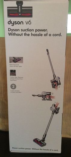 Dyson V6 Cordless Vacuum Cleaner Powerful Suction New Subaru Special Addition #Dyson