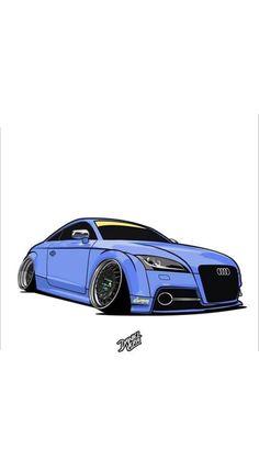 jdm cartoon culture cars drawings engineer