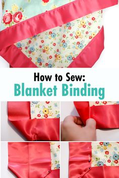The easiest way to sew the softest most cuddly receiving blanket for baby! dea8f1d2f