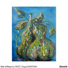 Pair of Pears Acrylic Wall Art