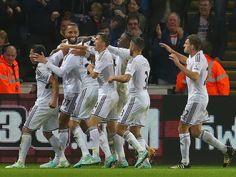 FB Fans: Swansea City AFC beat Arsenal 2-1 .....