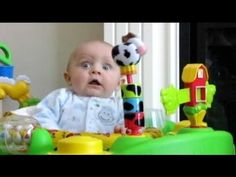 Funniest Babies Scared and Startled of Toys Compilation - Adorable Baby Videos - YouTube