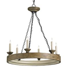 A more similar shape to your current one, but much lighter in texture  Beachhouse Chandelier $990