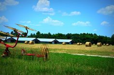 """Check out my art piece """"Field of Bales"""" on crated.com"""