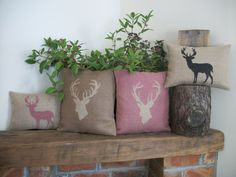Rustic Country Crafts Cushions