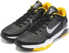 http://www.asneakers4u.com Nike Zoom Kobe 7 VII  Black/Yellow