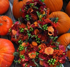 Fall Wedding Centerpieces Without Flowers