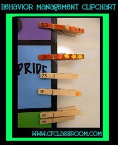 Clutter-Free Classroom has FREE tips & ideas to help teachers improve classroom organization & management.Enjoy teaching with less mess & less stress. Behavior Management System, Classroom Behavior Management, Organization And Management, Classroom Organization, Class Management, Behavior System, Classroom Behaviour, School Organisation, Student Behavior