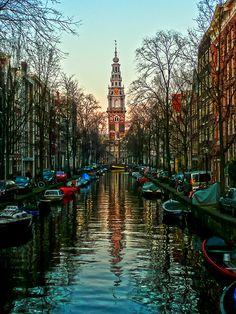 Zuiderkerk, Amsterdam, the Netherlands by Mr. Ansonii