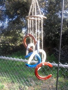 Horseshoe Windchime by GardenCocktails on Etsy, $30.00