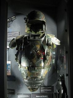I say we take off and nuke the site from orbit. It's the only way to be sure. Protective armor and helmet worn by Michael Biehn as Hicks