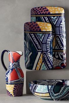Anthropologie Habari Serveware #anthroregistry