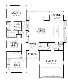 Contemporary Layout With Abundant Natural Light (HWBDO67292) | Contemporary House  Plan From BuilderHousePlans.