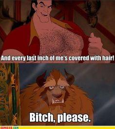 Gaston's No Beast
