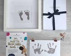 Daddy's Magic Inkless Handprint Footprint Kit by Stomp Stamps, the perfect gift for Explore more unique gifts in our curated marketplace. Fathers Day Wishes, First Fathers Day Gifts, Gifts For New Dads, First Mothers Day, New Baby Gifts, Baby Handprint Kit, Creating Keepsakes, Baby Footprints, New Mums
