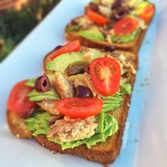 Sardine Avocado Toast