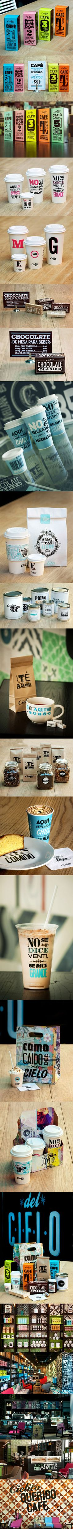 CIELITO ® - Lovely Package - great cafe branding and design