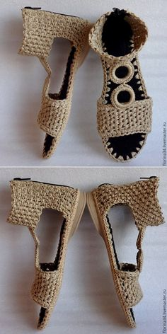 Shoes crochet#inspiration