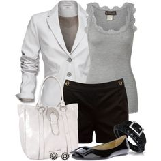 A fashion look from April 2013 featuring Rosemunde tops, Mexx blazers and Roger Vivier shoes. Browse and shop related looks.