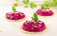 """""""Blend into hummus to turn it a pretty pink,"""" suggests Lewis. """"When boiling beets, add two tablespoo. - Provided by Eat This, Not That! Low Calorie Snacks, Low Calorie Recipes, Arabian Food, Clean Eating, Healthy Eating, Private Chef, Some Recipe, Fall Recipes, How To Lose Weight Fast"""