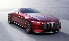 Le voilà donc au grand jour, ce concept-car Mercedes-Maybach. Le Vision 6 (c'est son nom) rappelle, dans sa philosophie, la Maybach Exelero Coupé présentée en 2005.