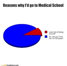 Reasons why I'd go to Medical School