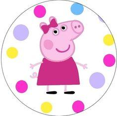 Pig Birthday, Frozen Birthday Party, Birthday Parties, Peppa Big, Aniversario Peppa Pig, Cumple Peppa Pig, Pig Party, Princesas Disney, Painted Rocks