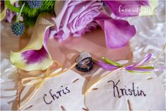 Detail shot of the wedding rings with sand dollars and purple flowers in Venice, Florida. Family Photography, Fashion Photography, Wedding Photography, Venice Florida, Wedding Photos, Wedding Rings, Sand Dollars, Ring Shots, Purple Flowers