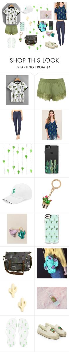 """cactus are f@#k / cactus style"" by fangirlfandoms on Polyvore featuring Puma, Alo Yoga, Casetify, Kate Spade, Slant, Disaster Designs, Sole Society, Forever 21 and Soludos"