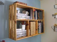 Various Inimitable Homemade Bookshelves: Creative Homemade Bookcase Design ~ metrohomesite.com Furniture Inspiration