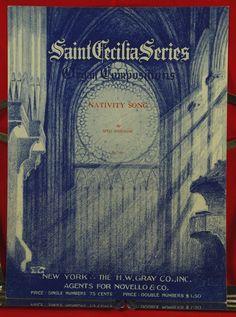 "Vintage 1941 Christmas Organ Music ""Nativity Song"" by Seth Bingham"