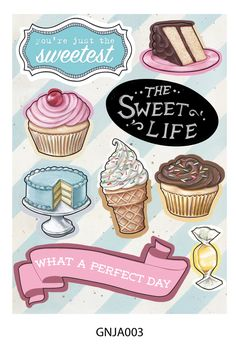 The Sweet Life collection by Everyday is a Holiday for Melissa Frances CHA Winter 2014